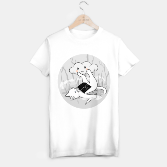 Thumbnail image of The White Cat's reality guide T-shirt regular, Live Heroes