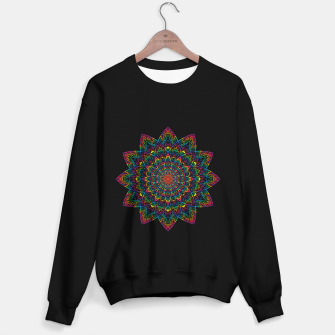 Thumbnail image of psychedelic mandala Sweater regular, Live Heroes