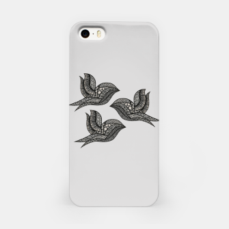 Thumbnail image of Black Birds Obudowa iPhone, Live Heroes