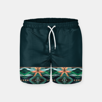 Miniature de image de Rainforest Pattern - ocelot spots II Swim Shorts, Live Heroes