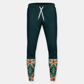 Miniature de image de Rainforest Pattern - ocelot spots II Sweatpants, Live Heroes