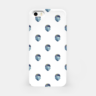 Thumbnail image of Earth With Face Mask Pandemic Concept Poster iPhone Case, Live Heroes