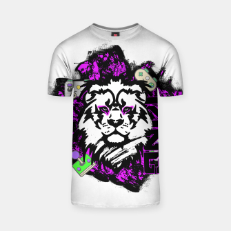 Thumbnail image of Lion gamer T-shirt, Live Heroes
