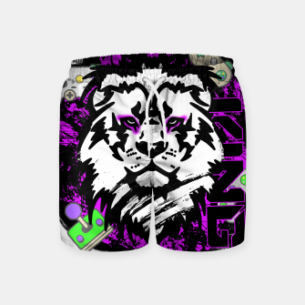 Thumbnail image of Lion gamer Swim Shorts, Live Heroes