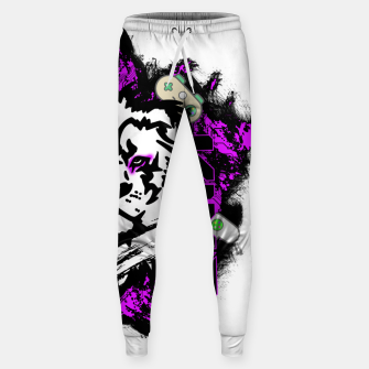 Thumbnail image of Lion gamer Sweatpants, Live Heroes