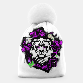 Thumbnail image of Lion gamer Beanie, Live Heroes