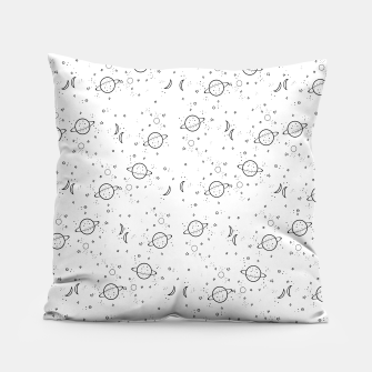 Thumbnail image of space pattern Pillow, Live Heroes
