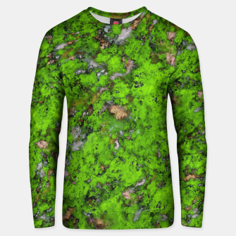 Thumbnail image of Big mossy wall Unisex sweater, Live Heroes