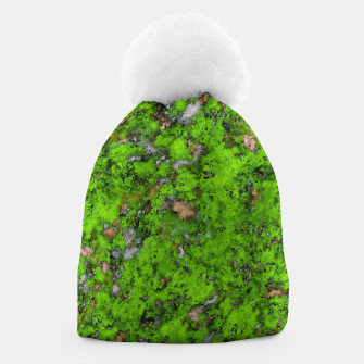 Thumbnail image of Big mossy wall Beanie, Live Heroes