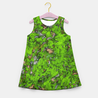 Thumbnail image of Big mossy wall Girl's summer dress, Live Heroes