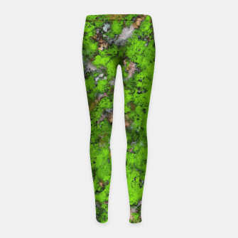 Thumbnail image of Big mossy wall Girl's leggings, Live Heroes