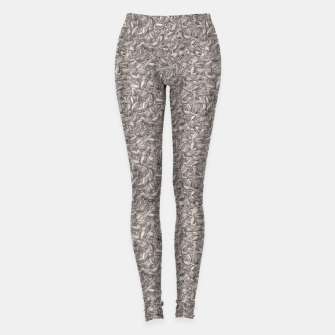 Sunflower Seeds Leggings Bild der Miniatur
