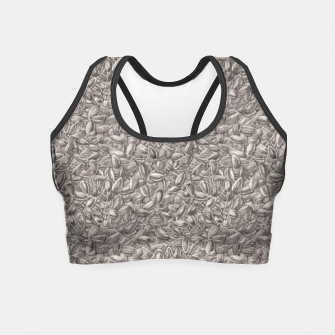 Miniatur Sunflower Seeds Crop Top, Live Heroes