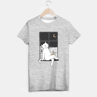 Thumbnail image of The winter night is the perfect sight T-shirt regular, Live Heroes