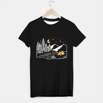 Miniatur Camp River T-shirt regular, Live Heroes
