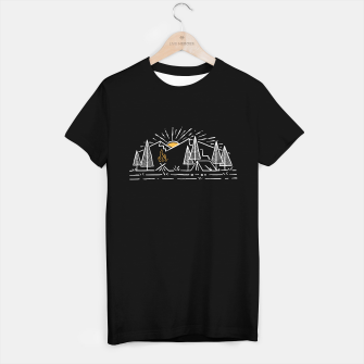 Miniatur Camp Lines T-shirt regular, Live Heroes
