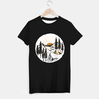 Miniatur Sunrise Camp T-shirt regular, Live Heroes