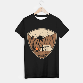 Miniatur Camp Cliffs T-shirt regular, Live Heroes