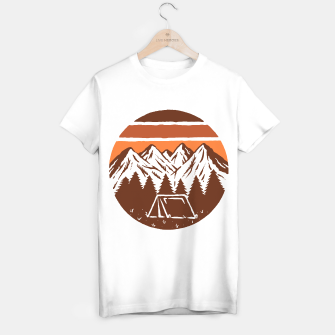 Miniatur Beauty Mountain T-shirt regular, Live Heroes
