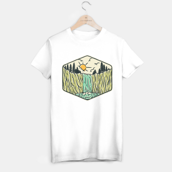 Thumbnail image of Beauty Waterfall T-shirt regular, Live Heroes
