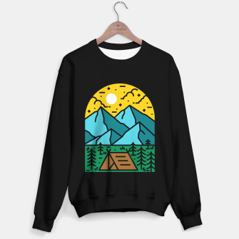 Miniatur Camp Sweater regular, Live Heroes
