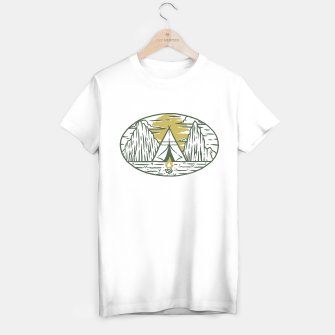 Miniatur Camp T-shirt regular, Live Heroes