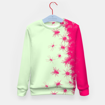 Thumbnail image of Spiders Kid's sweater, Live Heroes