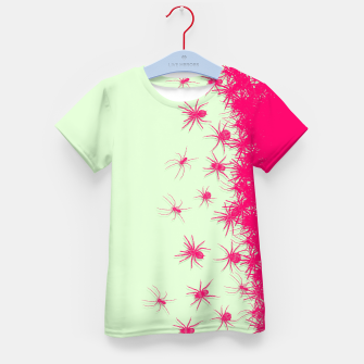 Thumbnail image of Spiders Kid's t-shirt, Live Heroes
