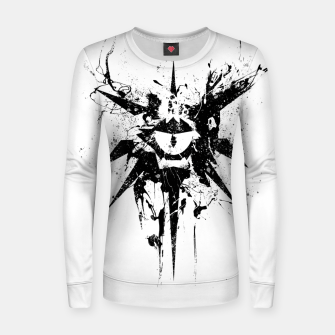Thumbnail image of dungeons and dragons warlock Women sweater, Live Heroes