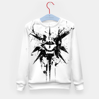 Thumbnail image of dungeons and dragons warlock Kid's sweater, Live Heroes