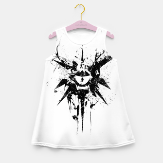Thumbnail image of dungeons and dragons warlock Girl's summer dress, Live Heroes