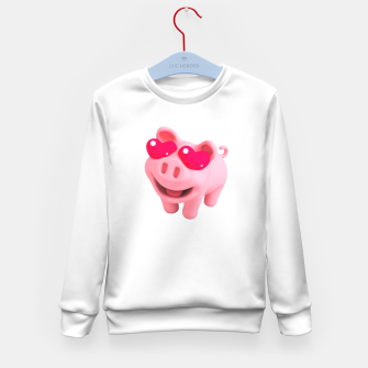 Rosa Heart Eyes Kid's sweater thumbnail image
