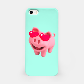 Thumbnail image of Rosa Heart Eyes Green iPhone Case, Live Heroes