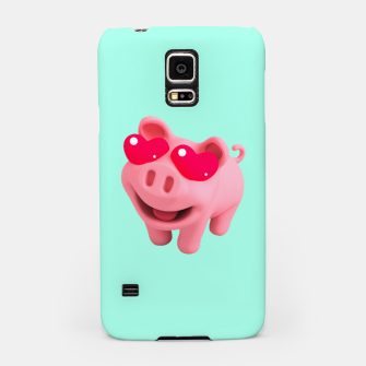 Thumbnail image of Rosa Heart Eyes Green Samsung Case, Live Heroes