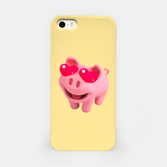 Thumbnail image of Rosa Heart Eyes Yellow iPhone Case, Live Heroes