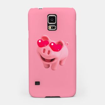 Thumbnail image of Rosa Heart Eyes Pink Samsung Case, Live Heroes