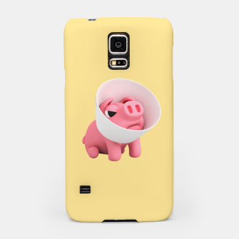 Thumbnail image of Rosa Cone of Shame Yellow Samsung Case, Live Heroes