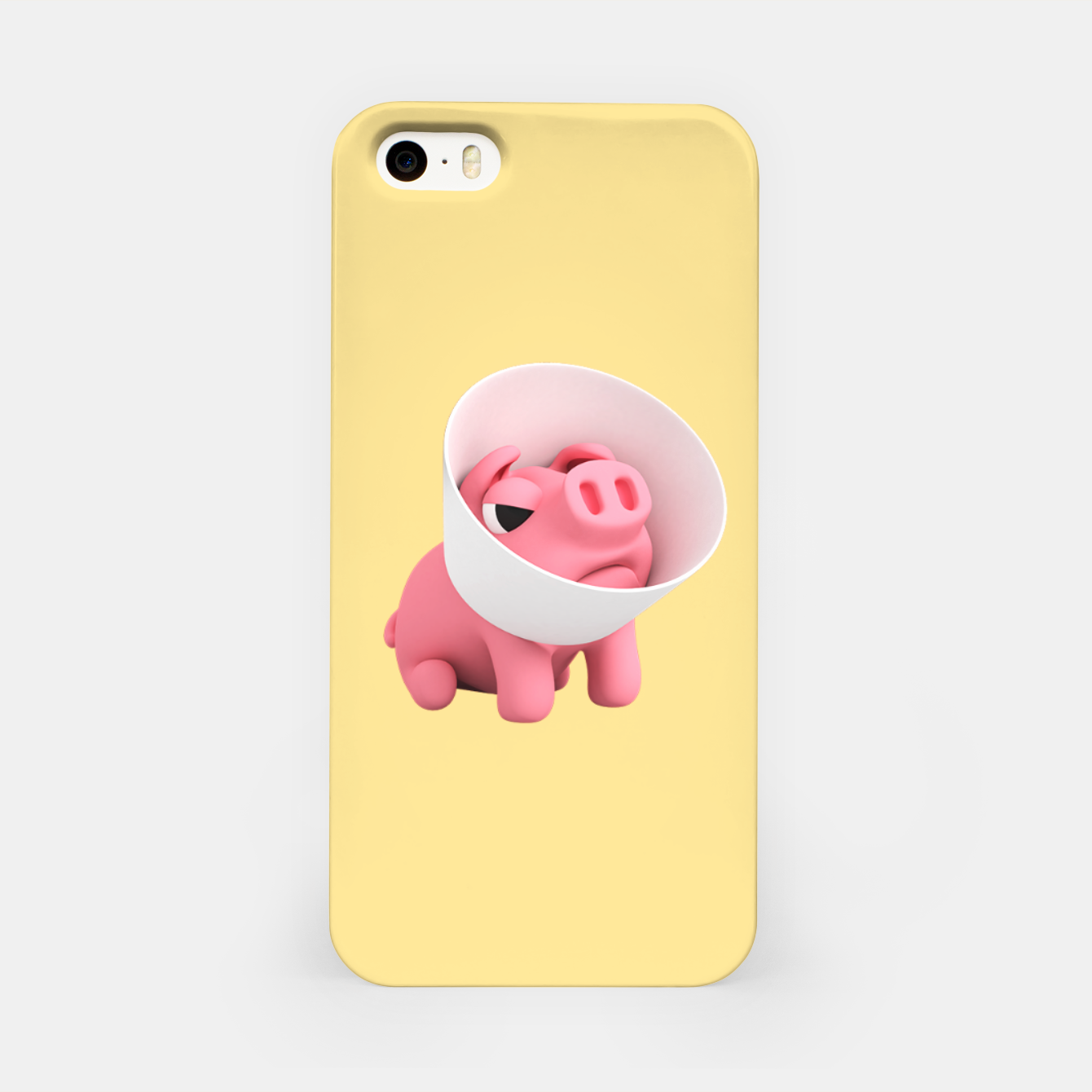 Image of Rosa Cone of Shame Yellow iPhone Case - Live Heroes