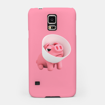 Thumbnail image of Rosa Cone of Shame Pink Samsung Case, Live Heroes