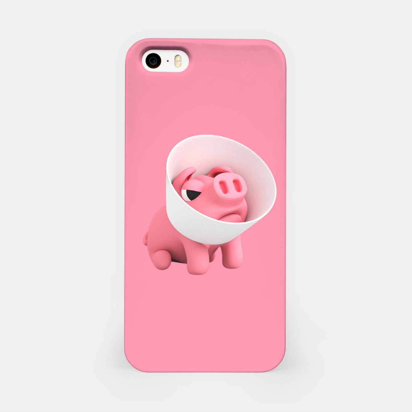 Image of Rosa Cone of Shame Pink iPhone Case - Live Heroes