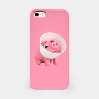 Rosa Cone of Shame Pink iPhone Case thumbnail image