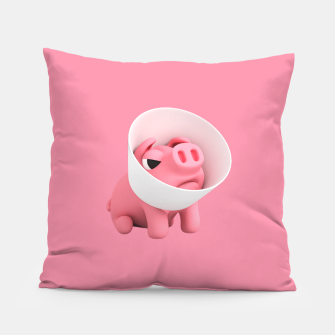 Rosa Cone of Shame Pink Pillow thumbnail image