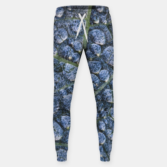 Thumbnail image of Cool water drops dew texture leaf Sweatpants, Live Heroes