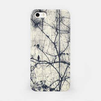 Miniatur Black and White Botanical Motif Artwork iPhone Case, Live Heroes