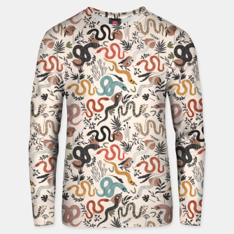 Thumbnail image of Mystical snakes in nature I Sudadera unisex, Live Heroes