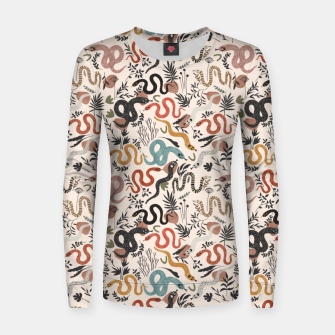 Miniature de image de Mystical snakes in nature I Sudadera para mujeres, Live Heroes