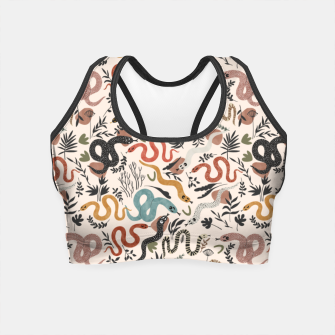 Thumbnail image of Mystical snakes in nature I Crop Top, Live Heroes