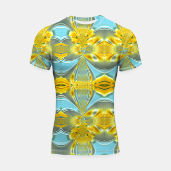 Peacock sunrise 1877 Shortsleeve rashguard miniature