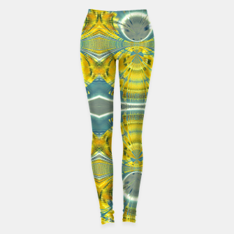 Miniature de image de Peacock sunrise 1875 Leggings, Live Heroes