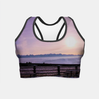 Thumbnail image of sunset in Czarna Góra Crop Top, Live Heroes